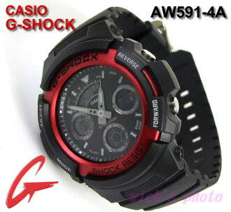 CASIO G-SHOCK/手表アナデジ(AW591-4A)