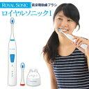 【送料無料】 電動歯ブラシ ロイヤルソニック 1 音波歯ブラシ 毎分40000回のハイパワー 音波電動歯ブラシ 充電式音波…