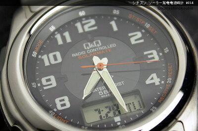 シチズンソーラー発電電波時計MCS4-301/MCS4-302/MCS4-303