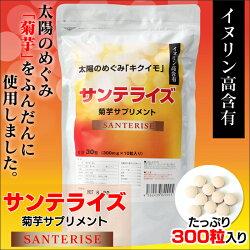 サンテライズ菊芋サプリメント90g(300mg×10粒×30包)