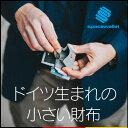 【送料無料】 小さい財布 space wallet push 財布 二つ折り財布 小銭入れ 父の日 ギフト プレゼント コインケース カ…