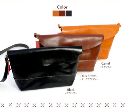 栃木レザー日本製ショルダーバッグ栃木レザーショルダーバッグカバン日本製牛革本革職人鞄ステッチいつもショップ