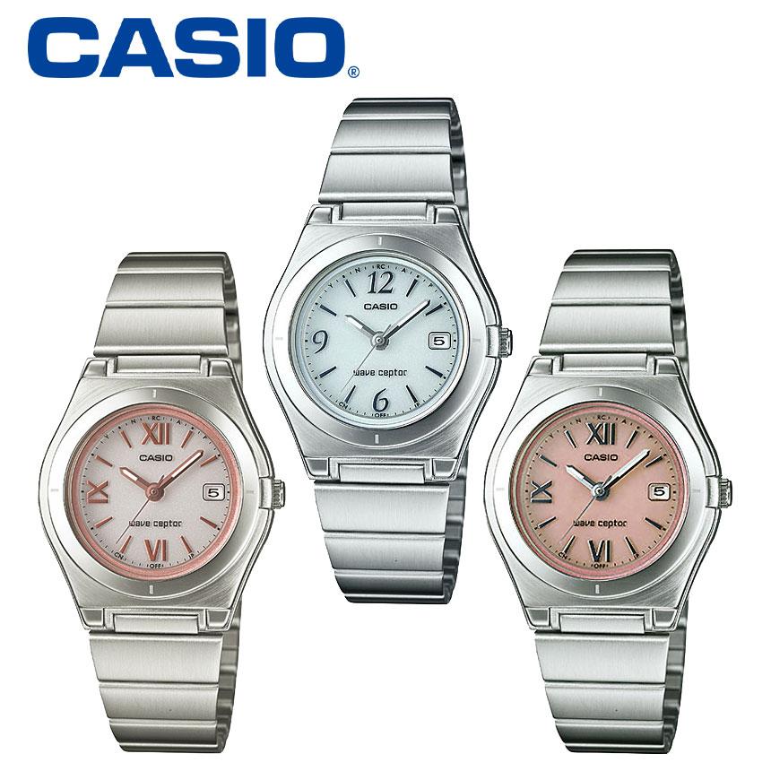 【送料無料&ポイント5倍】 カシオ CASIO 腕時計 レディース ソーラー電波時計 電波ソーラー腕時計 かわいい LWQ-10DJ-4A1JF LWQ-10DJ-7A1JF wave ceptor 女性用 レディースウォッチ うでどけい ピンク ブランド アナログ おしゃれ クリスマス ギフト プレゼント 母の日