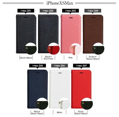 サフィアーノレザー製手帳型iPhoneケース543位ケース・カバー20190105