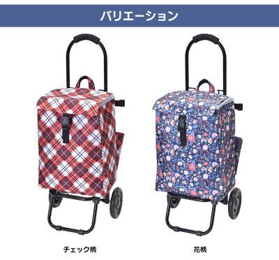 ショッピングカートともちゃんショッピングカートともちゃん大容量耐荷重12kg保冷保温保冷シートお出かけ買い物チェック花柄傘差しフック取手いつもショップ