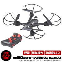 大型30cmドローンブラック・フェニックス[Ho-80036]【新聞掲載】