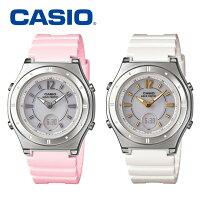 カシオCASIO電波ソーラー腕時計LWA-M142-4AJFLWA-M142-7AJF
