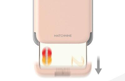 MatchnineiPhone8/7CARDLASLOTMatchnineiPhone78CARDLASLOTマッチナインスライド式二重保護ワイヤレス充電Qiカード収納衝撃保護ホワイトピンクブラックカーボンカードラスロット通販ライフ