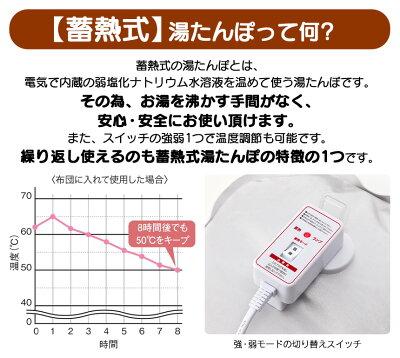 蓄熱式エコ湯たんぽnuku2フランネルVer.[EWT-1962]