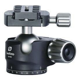 Leofoto 自由雲台 LHシリーズ ボール40mm クイックリリースプレート付属 LH-40 レオフォト
