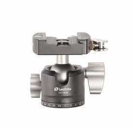 Leofoto 自由雲台 LH-30LR+NP-50 ボール径30mm レバーリリース方式 クイックリリースプレート付属 アルカスイス互換 レオフォト 送料無料