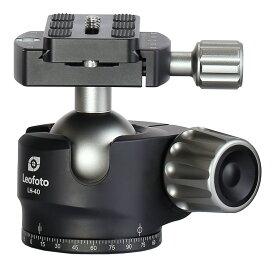 Leofoto 自由雲台 LH-40 ボール径40mm クイックリリースプレート付属 アルカスイス互換 レオフォト 送料無料
