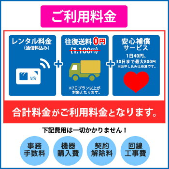 SoftBankソフトバンク501HWPocketWiFi1日レンタル