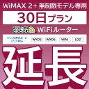 【延長専用】 WX05 WX06 W06 L02 無制限 wifi レンタル 延長 専用 30日 ポケットwifi Pocket WiFi レンタルwifi ルー…
