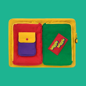 Pocket Laptop Pouch - Yellow ノートパソコン ケース ポーチ サイズ PCケース 15インチ 可愛い おすすめ かわいい 韓国雑貨 人気パソコンケース 生活防水