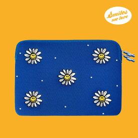 Laptop Sleeve - Smiles We Love ノートパソコン ケース ポーチ PCケース パソコンケース サイズ 13インチ 15インチ 可愛い かわいい おすすめ 韓国 人気