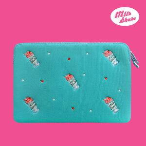 Laptop Sleeve - Milk Shake ノートパソコン ケース ポーチ サイズ 13インチ 15インチ PCケース 可愛い おすすめ かわいい 韓国 人気