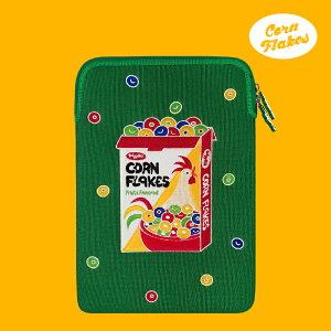 Laptop Sleeve - Corn Flakes ノートパソコン ケース ポーチ サイズ 13インチ 15インチ おしゃれ 可愛い おすすめ マックブックケース macbook 韓国