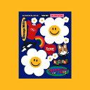 Removable Deco Sticker - Wiggle Friends ステッカー シール デコ デコラ かわいい雑貨 スケジュール帳 手帳 カスタム アクセント ウィグルウィグル wigglewiggle