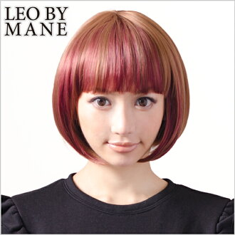 / Wig / wig /wig heat-resistant / extensions / フルウィッグ / short Bob /LEOBYMANE ( レオバイメイン ) /L-FWSH 010 A / ソリッドボブ/2 tone/ウィッグインブ room/mode / wigs