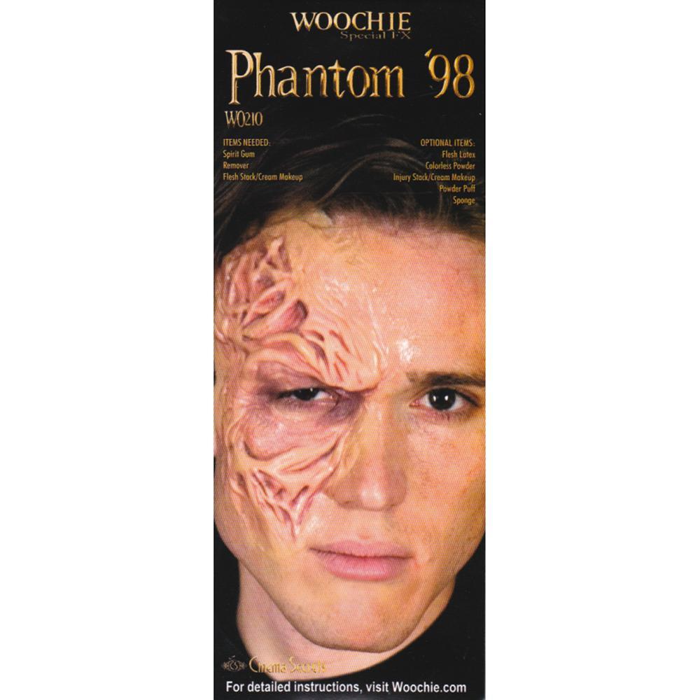 米国シネマシークレット社製 仮面を外したオペラ座の怪人の真実…特殊メイクキット WO210|WOOCHIE Phantom'98