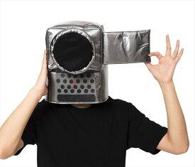 かぶりもん ビデオカメラかぶりもの 帽子 被り物 仮装 イベント コスプレ コスプレ おもしろキャップ 舞台