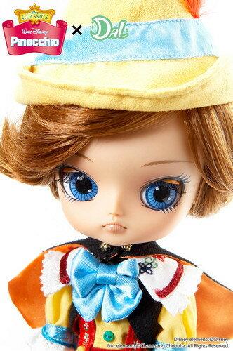 送料無料 ダル Pinocchio(ピノキオ) プーリップ テヤン ドール 着せ替え人形