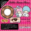 [-0.00 컬러 렌즈]CHARACON Little Twin Stars Kiki&Lala BROWN STARS(사용 기간:1 개월 / 내용량:2 lenses)