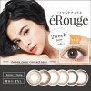 [컬러 렌즈] eRouge clarity brown (사용 기간:2 주/ 내용량:6 장 )