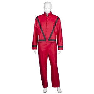 マイケル・ジャクソン風 スリラージャケット JCP-127 衣装一式 コスプレ 衣装 コスチューム ハロウィン パーティ 仮装