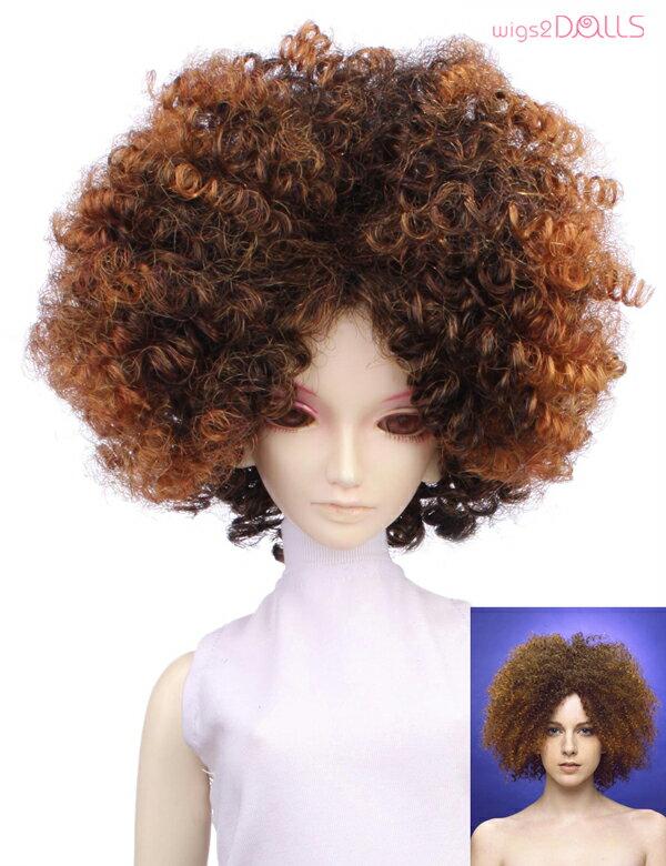 【Wigs2dolls】人形・ドールウィッグ/W-700/アフロ/SD60/Super Dollfie/スーパードルフィー/オリジナル/人気商品/撮影にも/BJD/おもちゃ/コスチューム【楽天BOX受取対象商品