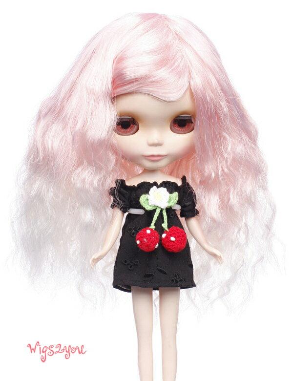 【Wigs2dolls】人形・ドールウィッグ/B-102/ロング/Blythe/ブライス/コスチューム /オリジナル/人気商品/撮影にも【楽天BOX受取対象商品】
