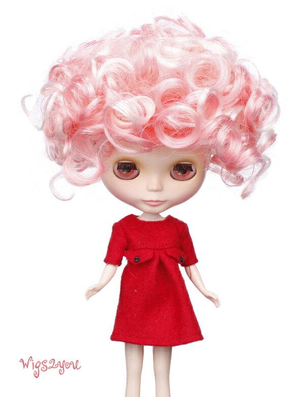 【Wigs2dolls】人形・ドールウィッグ/B-103/ショート/Blythe/ブライス/コスチューム /オリジナル/人気商品/撮影にも【楽天BOX受取対象商品】