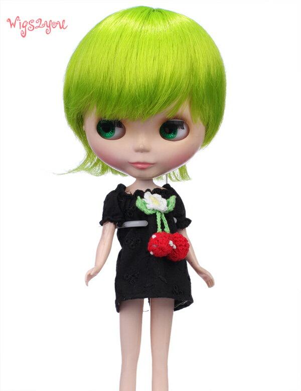 【Wigs2dolls】人形・ドールウィッグ/B-126/ショート/Blythe/ブライス/コスチューム /オリジナル/人気商品/撮影にも【楽天BOX受取対象商品】