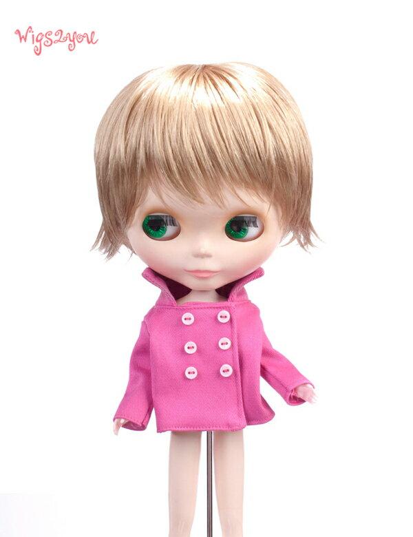 【Wigs2dolls】人形・ドールウィッグ/B-132/ショート/Blythe/ブライス/コスチューム /オリジナル/人気商品/撮影にも【楽天BOX受取対象商品】