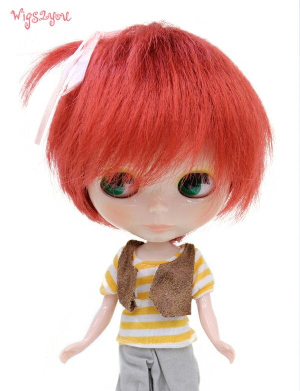 【Wigs2dolls】人形・ドールウィッグ/B-156/ショート/Blythe/ブライス/コスチューム /オリジナル/人気商品/撮影にも【楽天BOX受取対象商品】