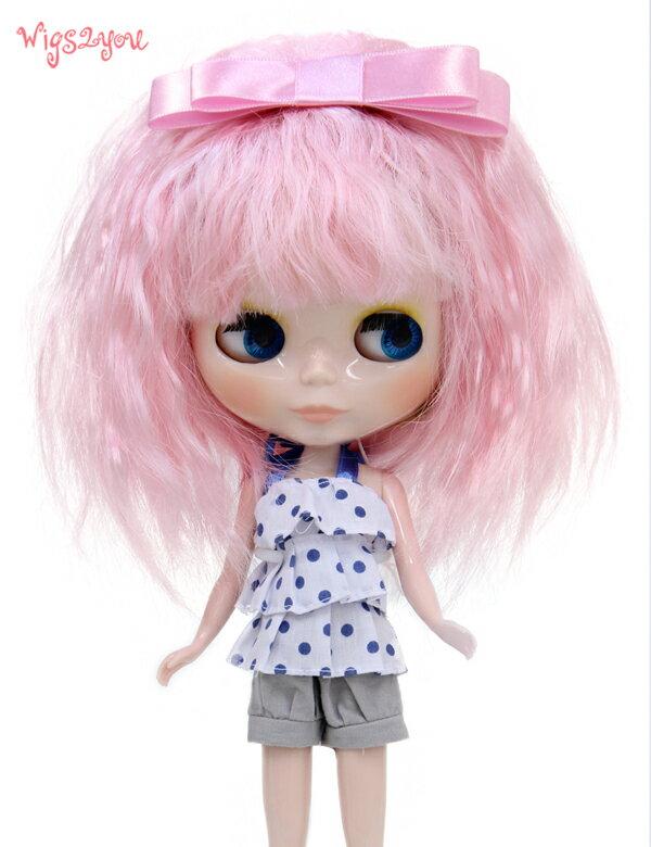 【Wigs2dolls】人形・ドールウィッグ/B-159/ミディアム/Blythe/ブライス/コスチューム /オリジナル/人気商品/撮影にも【楽天BOX受取対象商品】