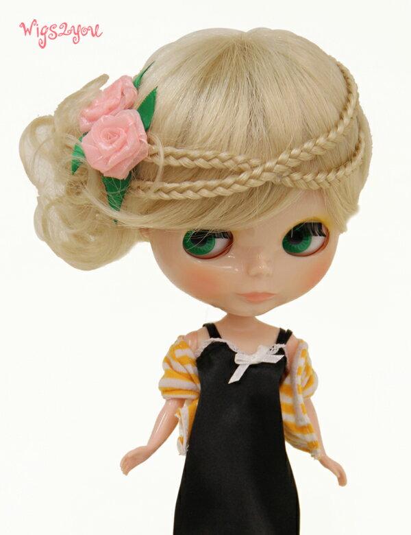 【Wigs2dolls】人形・ドールウィッグ/B-165/ショート/Blythe/ブライス/コスチューム /オリジナル/人気商品/撮影にも【楽天BOX受取対象商品】