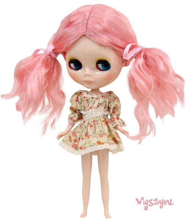 【Wigs2dolls】人形・ドールウィッグ/B-184/ミディアム/Blythe/ブライス/コスチューム /オリジナル/人気商品/撮影にも【楽天BOX受取対象商品】