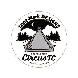 tent-mark DESIGNS ステッカー circusTC【サーカスTC テンマクデザイン】