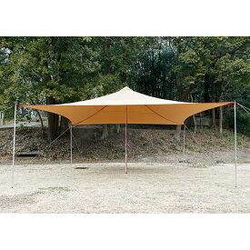 tent-Mark DESIGNS(テンマクデザイン)青空タープTC【スクエアタープ カンタン ファミリーキャンプ 焚き火】