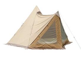 tent-Mark DESIGNS サーカスTC DX専用 窓付きフロントフラップ【サンドカラー】(オプション品)
