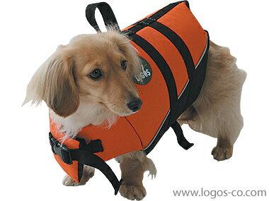 【ロゴス(LOGOS)】【愛犬水遊び用ライフジャケット】PET フローティングベストXS