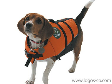 【ロゴス(LOGOS)】【愛犬水遊び用ライフジャケット】PET フローティングベストM【関東・中部・関西送料無料】