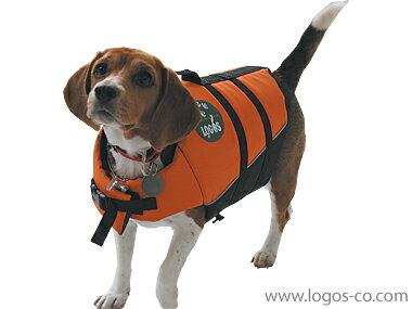 【ロゴス(LOGOS)】【愛犬水遊び用ライフジャケット】PET フローティングベストL