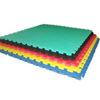 結合墊子/1張全5色黑、粉紅、藍、黄色、綠顛動索墊子、EVA墊子[WILD FIT粗礦合身]車底板墊健身墊子體育館地板保護