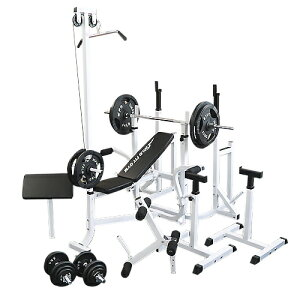 マルチフルセット アイアン140kg[WILD FIT ワイルドフィット] 送料無料 バーベル ベンチプレス トレーニング ウエイト プレート スクワット 大胸筋 腹筋