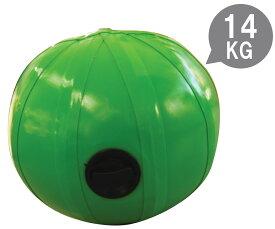 ウォーターボール 30 緑(専用水栓コック・空気ポンプ付)[返品・交換不可商品] 送料無料 アクアボール ウエイト トレーニング ラグビー アメフト フィットネス