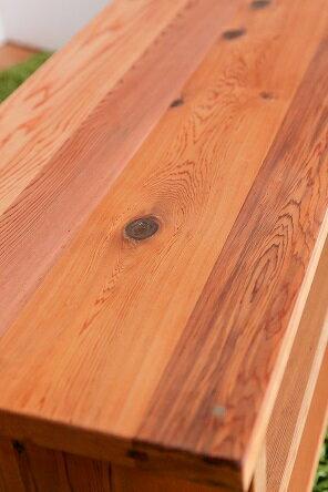 レッドシダー製テレビ台横幅90cm板厚32ミリ!完成品日本製無垢・天然木製国産TVボードローボードローテーブル送料無料
