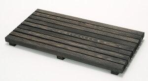 ウッドデッキ匠 すのこデッキ 30cm×60cm×厚み4cm:6枚セット(色:ブラウン)【ベランダ 天然木製 ウッドパネル ベランダガーデン おしゃれ 日本製 送料無料】